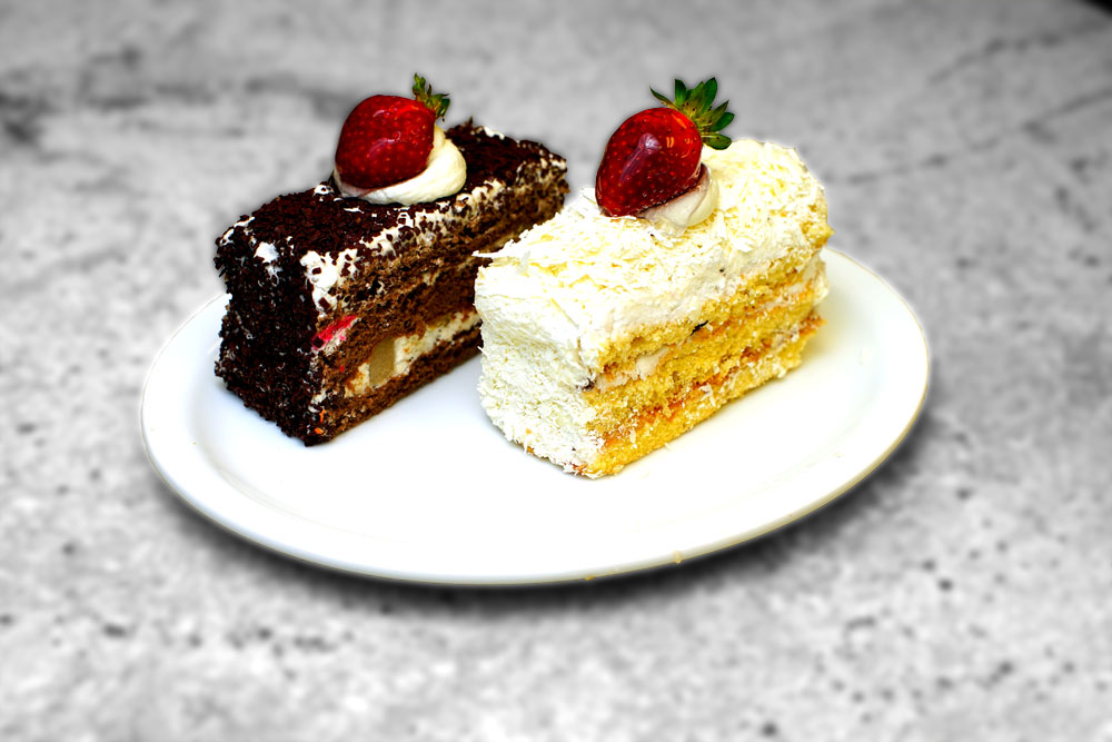 Black And White Cake Icing